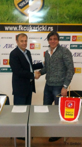 Predsednik Božić potpisao sporazum sa Čukaričkim
