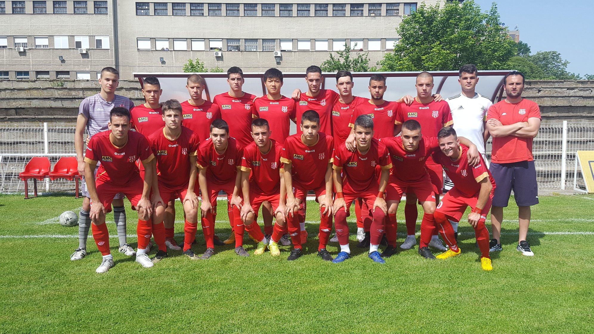 OMLADINCI FK SINĐELIĆ BEOGRAD