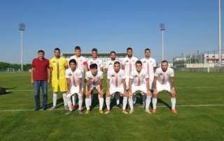 Састав ФК Синђелић на утакмици против ОФК Бачке у Старој Пазови